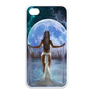 Custom Crescent Moon Design TPU Case Protector For iPhone 6 4.7