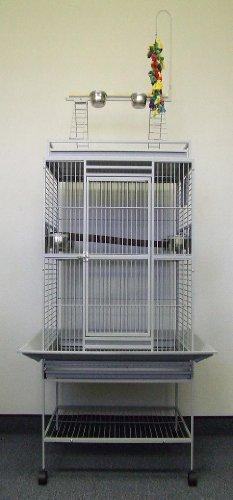 Bird Parrot Cage Macaw Cockatoo African Grey Q32-2422 S