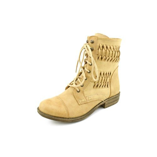 American Rag Womens Chopper Round Toe Ankle Fashion Boots, Natural, Size 8.0