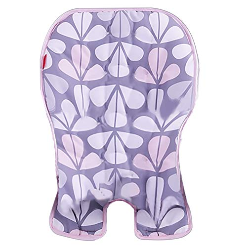 Replacement Pad/Cover for Fisher-Price Space-Saver High Chair #FLH00 - Pink Gray and White Design