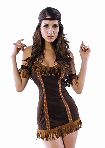 Sexy Pocahontas Fancy Dress Costume - Hen Night Party Outfit Indian Squaw Amazon.co.uk Clothing  sc 1 st  Amazon UK & Sexy Pocahontas Fancy Dress Costume - Hen Night Party Outfit Indian ...