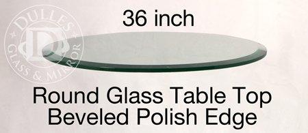 Edge Glass Top Table - 7