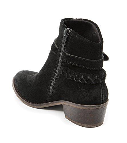 Baretraps Masey Dameslaarzen Zwart