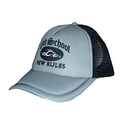 Orange County Choppers Men's Old School Trucker Cap Adjustable White ()