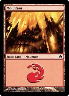 (Magic: the Gathering - Mountain (#34) - Premium Deck Series Fire & Lightning -)