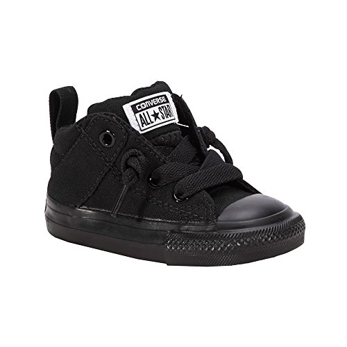 Converse Unisex Baby Chuck Taylor All Star Axel MID (Inf/Tod) - Black/Black - 5 Infant