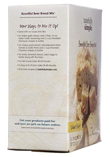 Tastefully Simple Bountiful Beer Bread Mix Value Pack by Tastefully Simple (Image #2)