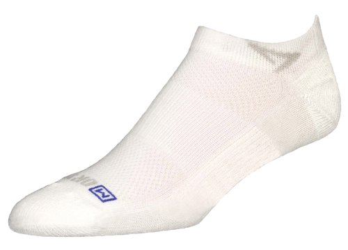 Drymax Golf Lite-Mesh Mini Crew Sock,White,Small