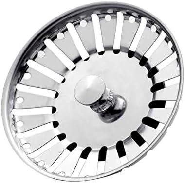 Escurridor de filtro de desag/üe de fregadero de cocina de acero inoxidable BSM 78 mm y 84 mm