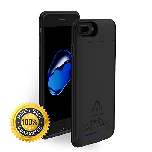iPhone 6 Plus Charger Case, Airbton Multifunctional 7+ Backup Power Bank with Magnet Bracket,iPhone 8 Plus / 6s Plus Ultra Slim Apple Rechargeable Power Case with 4200 mAh - Case Pack Magnet