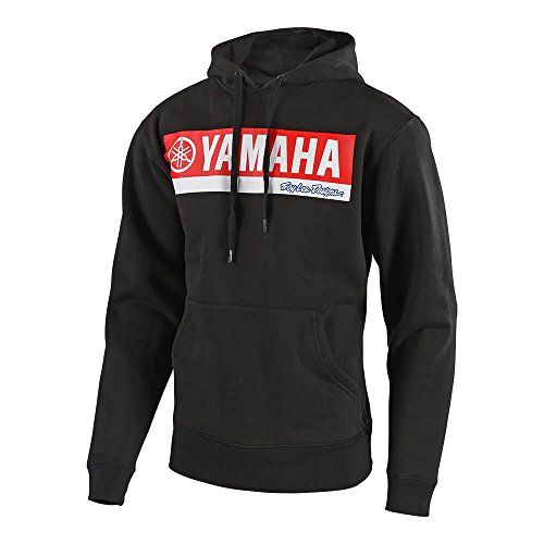 2018 Troy Lee Designs Yamaha RL1 Pullover Fleece Hoody-Black-L