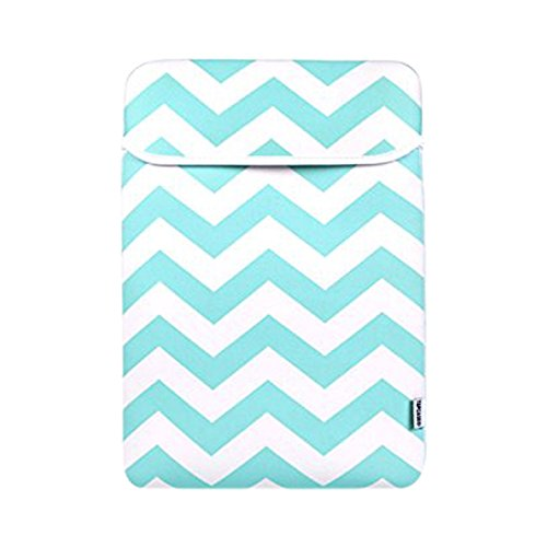 TopCase Chevron Turquoise 15 inch Notebook