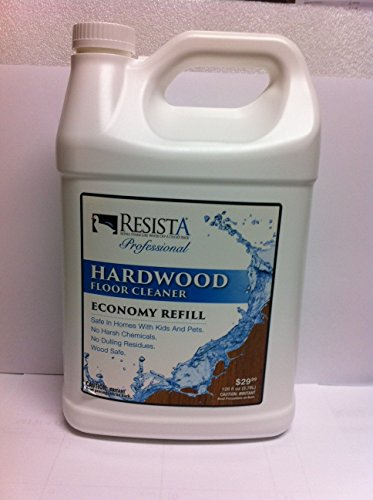 Resista Professional Hardwood Floor Cleaner Economy Refill by Hardwood Floor Cleaner Gallon