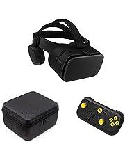 VR Shark X6 - VR bril / headset / VR box & gamepad compatibel met 4.7 - 6.2 Android smartphones van Samsung, Sony, HTC, LG, Huawei, Motorola, Xiaomi, Asus [Bluetooth - Set]