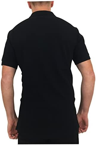 Paul Smith Zebra Badge Regular Fit Short Sleeve Polo Shirt in Black