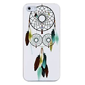 Feathers in the Air Coloured Drawing Pattern Plastic Back Case for iPhone 5/5S