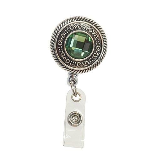 Vintage Round Retractable Badge Reel