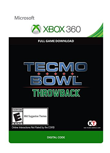 Tecmo Bowl Throwback - Xbox 360 Digital Code