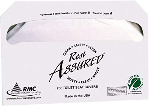 Value Collection - Toilet Seat Covers - for 4679915, 4679916, 250 Sheet Packs, 10 Packs/Case (3 Case) by Value Collection (Image #1)