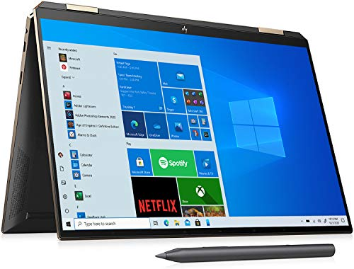 HP Spectre x360 14-ea0007sa 13.5″ Touchscreen Laptop 1920 x 1280 pixels Intel Core i5-1135G7 8GB 512GB SSD Windows 10 Home, Black