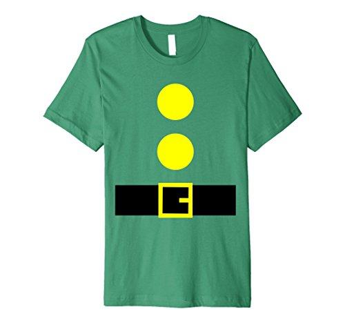 Mens Halloween Dwarf Theme Party DIY Costume Shirts Teacher Team 2XL Kelly Green