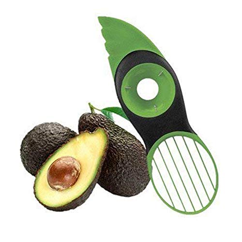 Avocado Cutter Core Removal Tool Sturdy Non-Hazardous 3-in-1 Fruit Peelers Simply Practical Kitchens