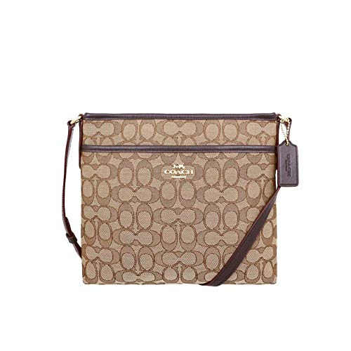 Coach Outlined Zip File