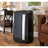 De'Longhi Pinguino 12,500 BTU 4-in-1 All Season Portable Air Conditioner, Heater Dehumidifier, Fan, Charcoal