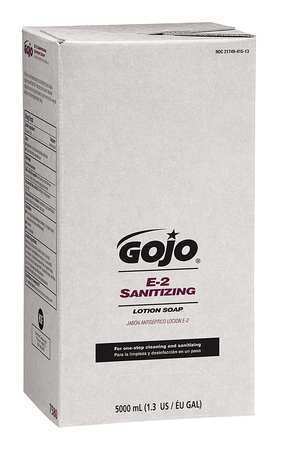 GOJO 5000 mL Unscented Sanitizing Liquid Soap Refill