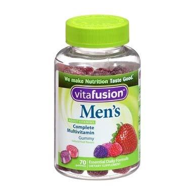 Vitafusion Mens Gummy Vitamins, 70 Count (3)