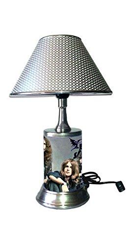 Sabbath Light - Black Sabbath Lamp with Chrome Colored Shade