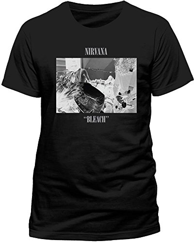 Nirvana Mens Nirvana Bleach Short Sleeve T-Shirt