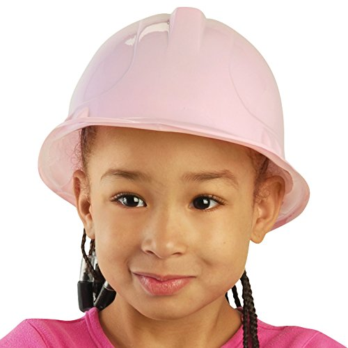 Pink Plastic Construction Hat Child (12 (Handy Manny Birthday Party Supplies)