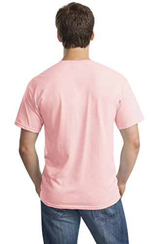 Pour À Clair Manches T Homme Rose Courtes shirt Gildan q5pq4Xw
