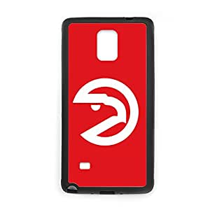Printing With Atlanta Hawks Silicone Love Phone Cases For Galaxy Note 4 Choose Design 1