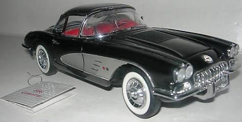 Franklin Mint Collectables (1958 Corvette 1:24 Die-cast (Franklin Mint ))