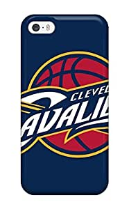 Forever Collectibles Cleveland Cavaliers Nba Basketball (1) Hard Snap-on ipod Touch 4 Case(3D PC Soft Case)