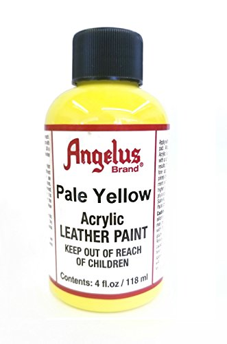- Angelus Acrylic Leather Paint-4oz.-Pale Yellow