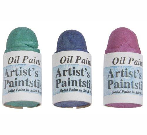 Jack Richeson Shiva Oil Paintstik, Jewel, Set of 3 (Jewel Stik)