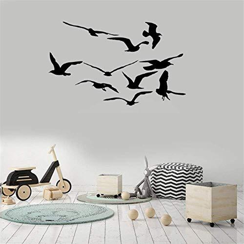 Baseball Lemon Peel (looebz Peel and Stick Removable Wall Stickers Beautiful Birds for Kids Room Living Room Bedroom)