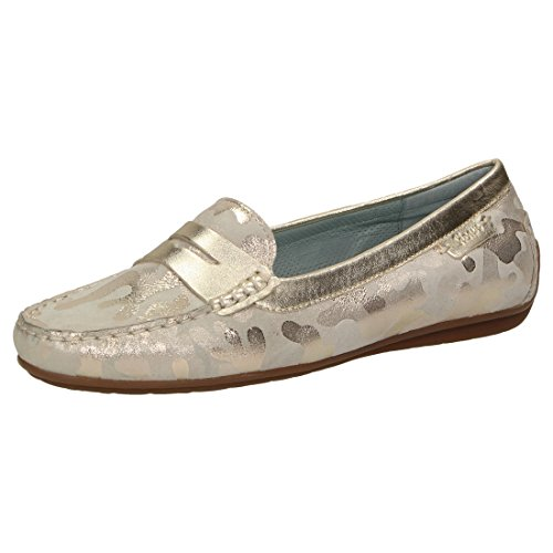 Sioux Damen Slipper Muhima Beige