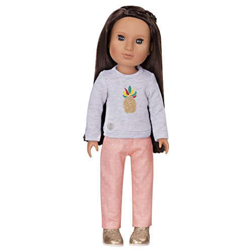 Review Glitter Girls by Battat Dressed to Dazzle Darling Top and Pant Regular Outfit 14 Inch Doll Clothes and Accessories for Girls Age 3 and up – Children's Toys