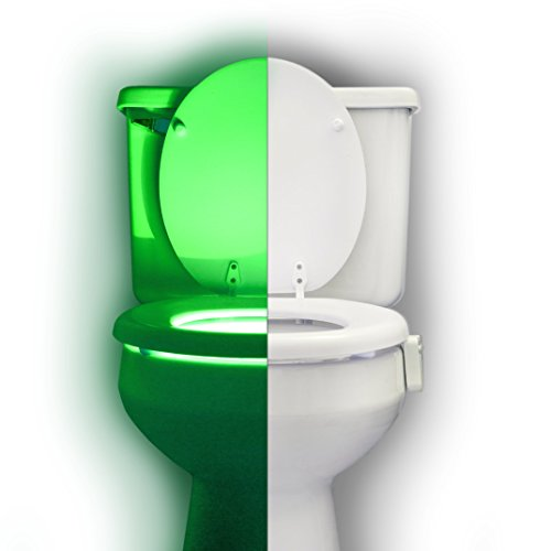 Toilet Night Light by RainBowl u2022 Color Changing Motion Sensor Light u2022 Best Bathroom Accessory for Safety ...  sc 1 st  Vanity Lights & Night Light by RainBowl u2022 Color Changing Motion Sensor Light ... azcodes.com