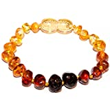 100% Genuine Baltic Amber Anklet Bracelet Ombre sizes 12cm 13cm 14cm 15cm 16cm. Free and Fast Delivery. Money Back Guarantee (12 CM)
