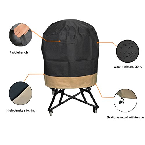 onlyfire Kamado Grill Cover Fits for Large Big Green - Import It All