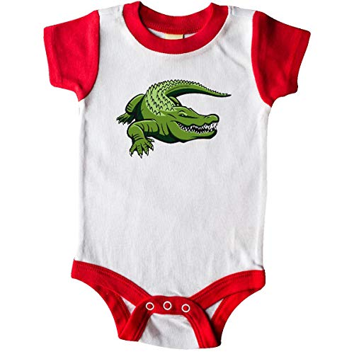 inktastic - Green Gator Infant Creeper 24 Months White and Red 3820