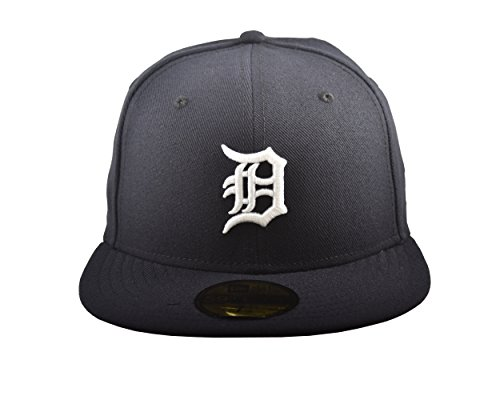 New Era 59FIFTY Detroit Tigers MLB 2017 Authentic Collection On Field Home Fitted Cap Size 7 3/8