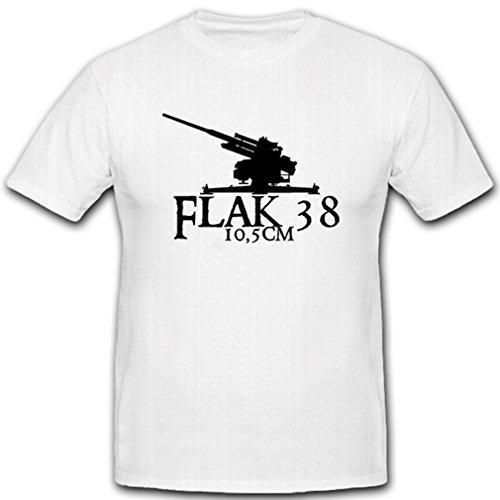 Air Defense Weapons - Flak 38 10,5 cm Air Defense Gun Weapon Military Gun