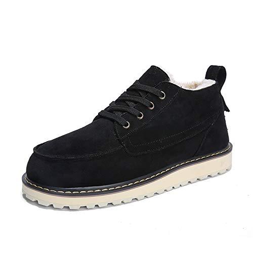 Homme Noir shoes Bottes Sry Pour ZntfAxnH