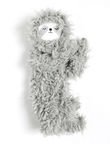 Amazon Exclusive Slumberkins Slumber Sloth Lovey Plush Pillow Doll (Ultra Plush Ashe)
